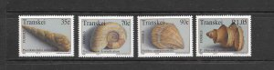 FOSSILS - SOUTH AFRICA (TRANSKEI) 279-82  MNH