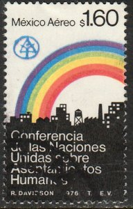 MEXICO C522 U.N. Conference on Human Settlements. Used F-VF. (1340)