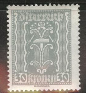 Austria Scott 262 MH* stamp from 1922-24 set