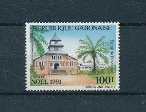 [104731] Gabon 1991 Christmas Weihnachten church  MNH