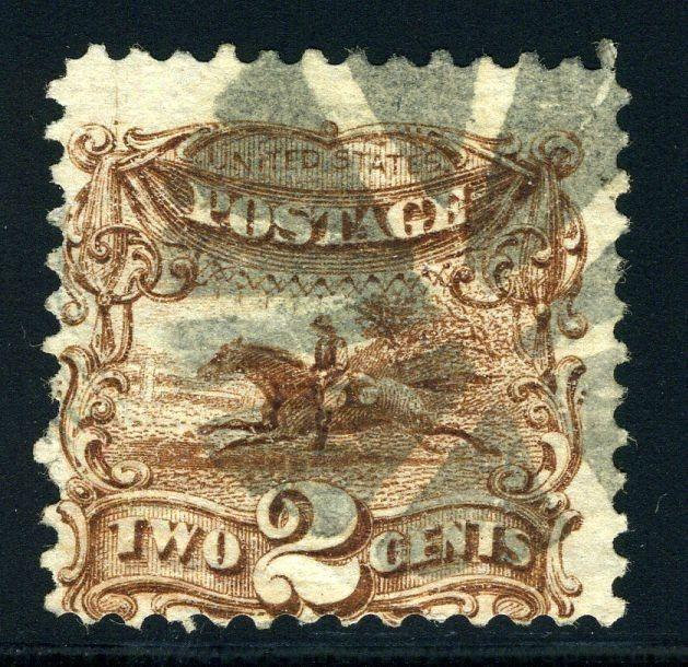 UNITED STATES SCOTT# 113 USED MUTE CANCEL AS SHOWN