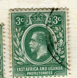 BRITISH KUT; KENYA 1912 early GV issue fine used 3c. value