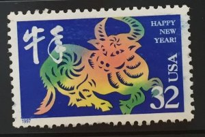 US #3120 Used VF - Happy New Year (Chinese) 32c