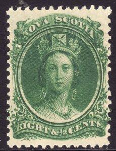 1860-63 Canada Nova Scotia Queen Victoria QV 8½¢ MNH Sc# 11 CV $20.00 Stk #5