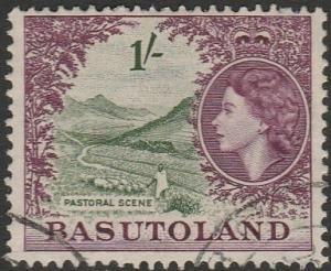 Basutoland, #52 Used From 1954
