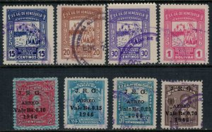 Venezuela #C218-26  CV $4.80