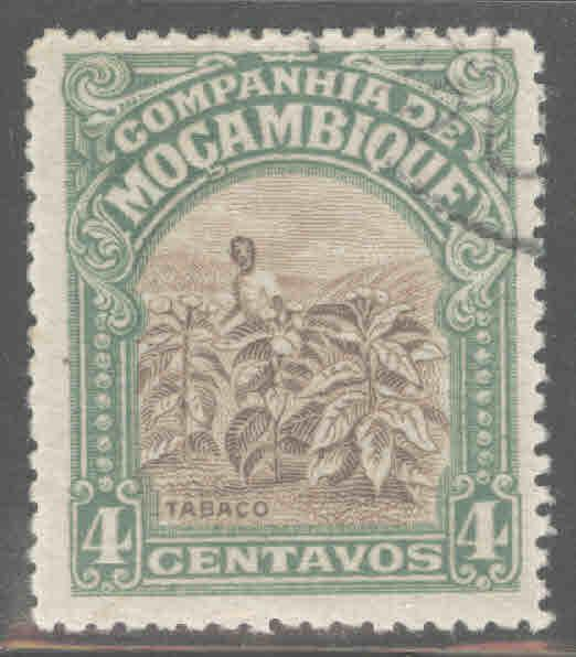 Mozambique  Company Scott 117 Used stamp