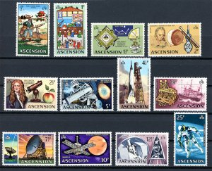 Ascension 138-151 MNH : : Decimal Currency Issue : : Space Exploration