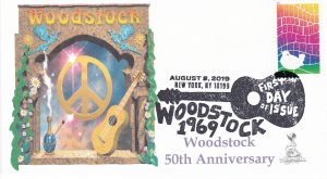 Woodstock 50th Anniversary FDC