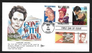 USA Scott 2446 Gone With The Wind Gil Craft First Day Cover FDC (z2)