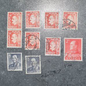 NORWAY   Stamps  Coms   1951 - 59   ~~L@@K~~
