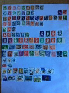 Norway 100+ stamps - Lot C