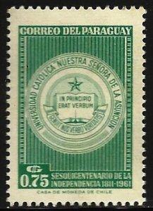 Paraguay 1961 Scott# 600 MH