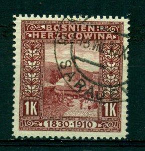 Bosnia & Herzegovina 1910 #59 U SCV(2020)=$7.50