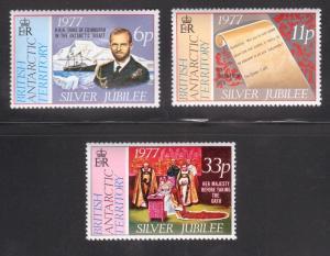 BAT 68-70 MNH CV $3.60