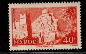 French Morocco Scott 325 MH* 1955 stamp