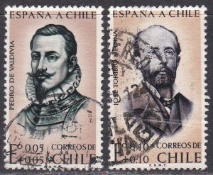 Chile Sc #B3-B4 Used