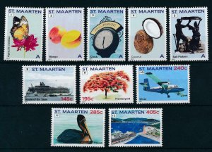 [SM031] St. Martin Maarten 2011 Definitives MNH