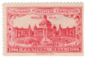 (I.B) US Cinderella : Louisiana Purchase Exposition (Festival Hall)