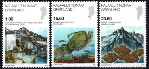 Greenland #552-4   MNH CV $16.15 (X1254)