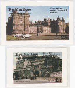Eynhallow - Scotland, Queen Elizabeth Silver Jubilee, Sheet  & Souvenir Sheet NH