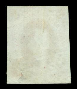 ARGENTINA 1872  RIVADAVIA - No wmk. -  5c carmine  Scott # 14 used