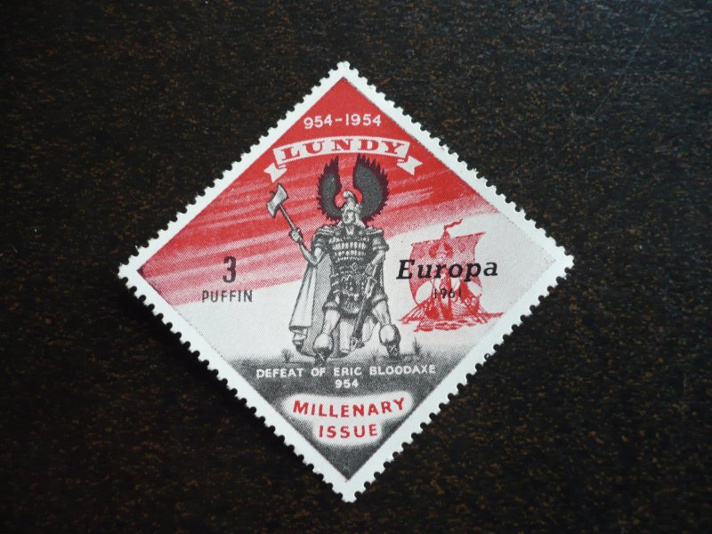 Europa 1961 - Lundy Island Cinderellas