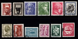 Greece 1954 Ancient Greek Art, Sculptures etc., Set [Used]