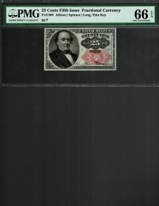 Fr. #1308 - 25c - Fifth Issue Frantional Currency