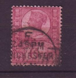J19319 Jlstamp 1887 great britain used #119 queen