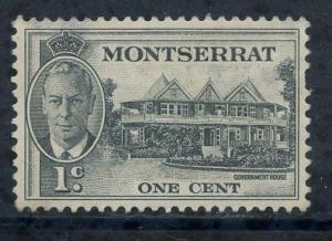 Montserrat Sct # 114; Unused hinged; album paper stuck