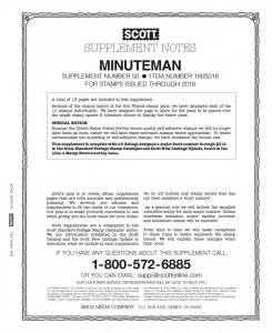 2018 Scott Minuteman Album Supplement