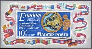 Hungary. 1975. bl113. Heraldry. MNH.