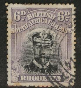 Rhodesia Scott 127a KGV perf 15 CV $9 few toned perfs