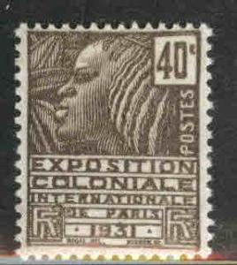 FRANCE Scott 229 MH* from 1930-31 Colonial Expo issue