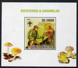 St Thomas & Prince Islands 2009 Scouts & Fungi #0...