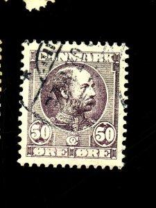 DENMARK #68 USED VF Cat $120