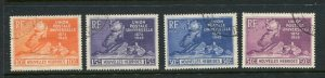 French New Hebrides #79-82 Used