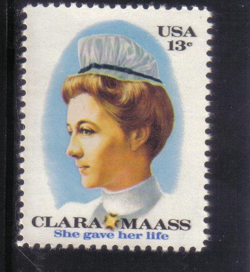 1699 - .13 Clara Maass mnh f-vf.