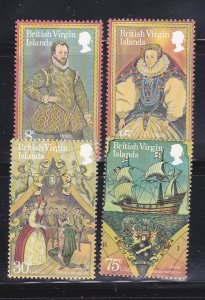 Virgin Islands 391-394 Set MNH Various (A)