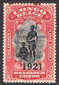 BELGIAN CONGO SCOTT 72