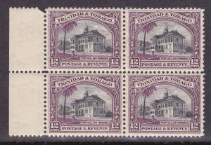 Trinidad & Tobago # 39, Block of 4, Mint, Never Hinged