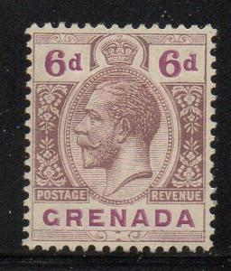 Grenada Sc 103 1921 6d George V stamp mint