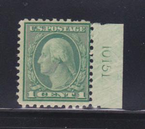 United States 542 plate Number Single MNH George Washington