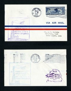 CAM # 18 First Flight from Lincoln, Nebraska, to Cedar Rapids, Iowa - 7-10-1928