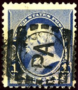 U.S. #219-A Used Nice PA Cancel