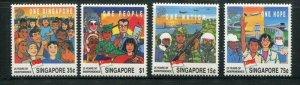 Singapore #576-9 MNH