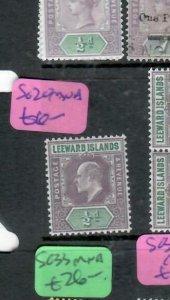 LEEWARD ISLANDS (P2308BB) KE  1/2D  SG 20   MNH
