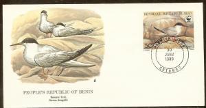 Benin FDC SC# 659 Roseate Tern L109