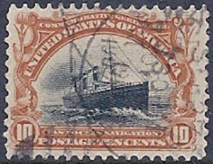 MALACK 299 F/VF, nicely canceled, fresh stamp ww0203